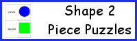 Shape 2 Piece Puzzles