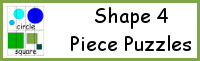 Shape 4 Piece Puzzles
