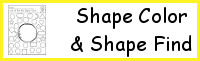 Shape: Color the Shape & Find the Shape