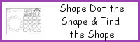 Shape Dot the Shape Find the Shape