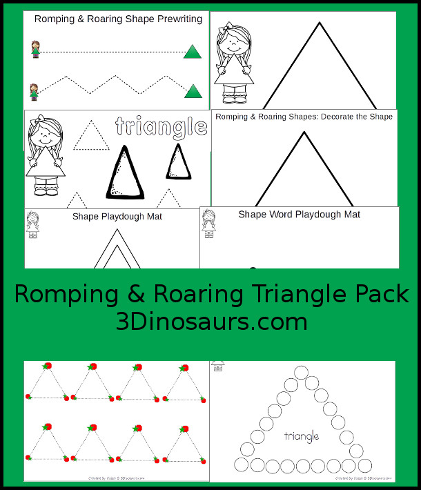 Romping & Roaring Triangle Pack