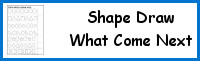 Shape: Draw What Comes Next