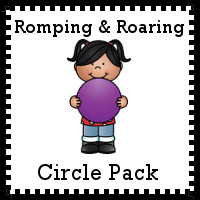 Free Romping & Roaring Circle Pack - 10 pages of activities - 3Dinosaurs.com