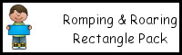 Romping & Roaring Rectangle Pack