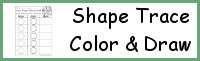Shape Trace, Color & Draw