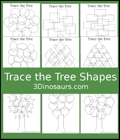 Tree Shape Trace and Color