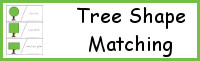 Tree Shape Matching Cards