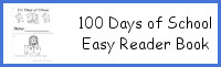 100 Days of School Easy Reader Book