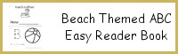 Beach Themed ABC Easy Reader Book