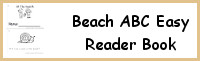 Beach Easy Reader Book