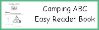 Camping Themed ABC Easy Reader Book