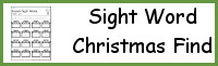 Sight Word Christmas Find