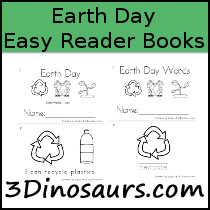 Earth Day Easy Reader: I, Can - 3Dinosaurs.com