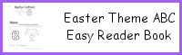 Easter Theme ABC Easy Reader Book