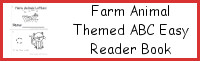Farm Animal Themed ABC Easy Reader Book