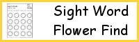 Sight Word Flower Find