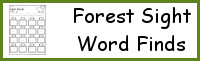 Forest Sight Word Find