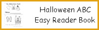 Halloween ABC Easy Reader Book