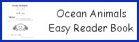 Ocean Animals Easy Reader Book
