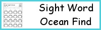 Sight Word Ocean Find