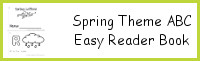 Spring Theme ABC Easy Reader Book