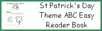 St Patrick's Day ABC Easy Reader Book