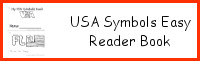 USA Symbols Easy Reader Book