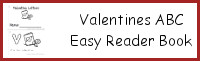 Valentines ABC Easy Reader Book