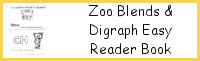 Zoo Blends & Digraph Easy Reader Book