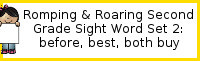 Romping & Roaring Second Grade Set 2: Before, Best, Both, Buy Packs