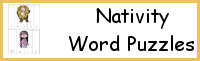 Nativity Word Puzzles