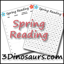 Spring Reading Charts
