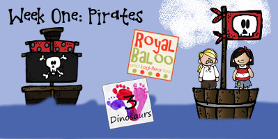 Build Up Summer Learning: Week 1 Pirate