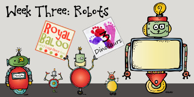 Build Up Summer Learning: Week 3 Robots