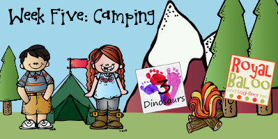 Build Up Summer Learning: Week 5 Camping