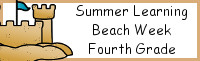 Summer Learning: Fourth Grade Beach Week