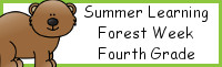 Summer Learning: Fourth Grade Forest Week