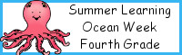 Summer Learning: Fourth Grade Ocean Week