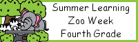 Summer Learning: Fourth Grade Zoo Week