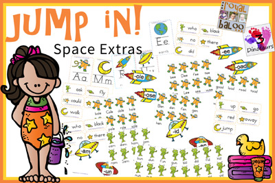 Jump In to Summer Learning Week 1 Extras!