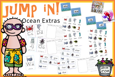 Jump In To Summer Learning Week 2 Extras