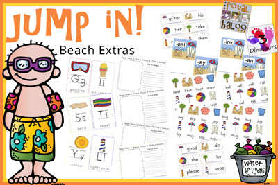Jump In To Summer Learning Week 3 Extras