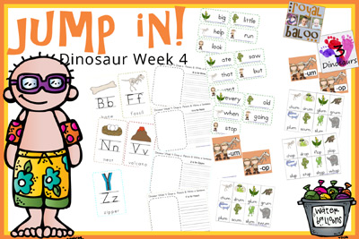 Jump In To Summer Learning Week 4 Extras