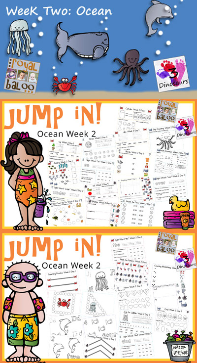 Jump In To Summer: Ocean Week 2
