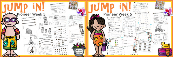 Jump In to Summer Learning: Week 5 Pioneer