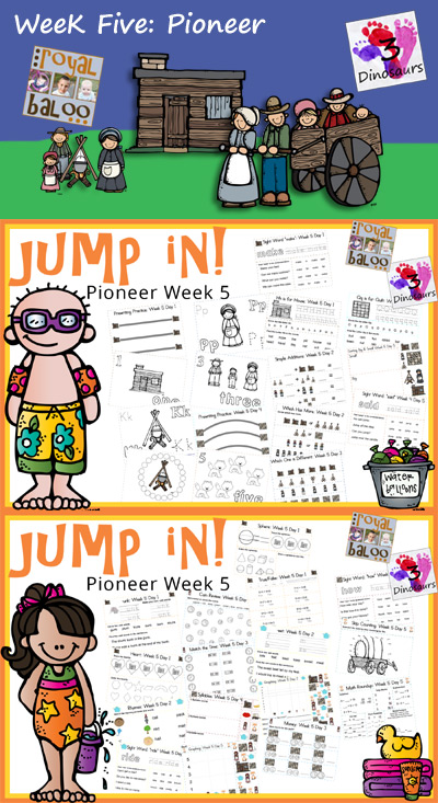 Jump In To Summer: Pioneer Week 5