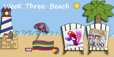 Jump Into Summer Learning: Beach Week 3