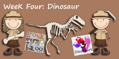 Jump Into Summer Learning: Dinosaur Week 4