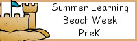 Summer Learning: PreK Beach Week