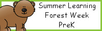 Summer Learning: Prek Forest Week